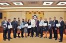 Вручение дипломов о профессиональной переподготовке 2017